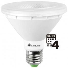 LAMPADA LED PAR 30 LAMPADINA 10W E27 230V 3000K LUCE CALDA 21107 MARINO CRISTAL