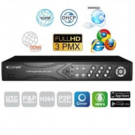 DVR VIDEOREGISTRATORE AHD COMELIT 5 IN 1 HYBRID 8 INGRESSI 3MP HDD 1TB AHDVR083A