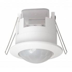 Sensore di movimento melchioni 499048727 pir ad infrarossi per soffitto da incasso 360°