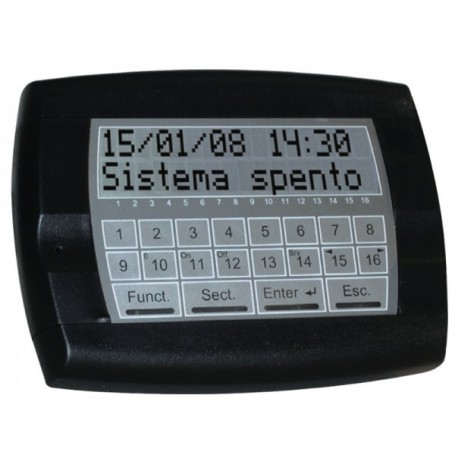 PESS TASTIERA I.TOUCH DISPLAY B P0810308 COLORE NERO PESS - 1