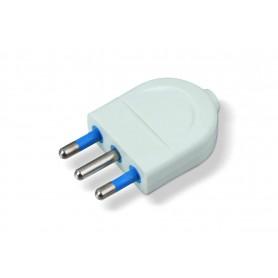 Spina 16A 2P+T - bianco elettrocanali ECK33302