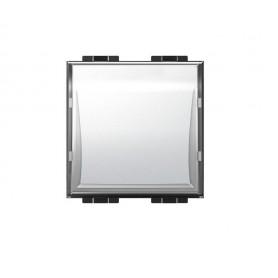 BTICINO pulsante 1 P targa portanome illuminabile BTI LN4040 LIVING