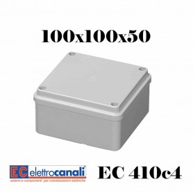 SCATOLA DI DERIVAZIONE EST IP56 CASSETTA STAGNA VARIE MISURE ELETTROCANALI EC410C4