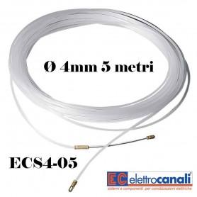 SONDA TIRAFILI PASSACAVI ELETTRICI IN ACCIAIO ELETTROCANALI ECS4-05