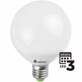 LAMPADA LED GLOBO LAMPADINA 12W E27 230V 4000K LUCE NATURA 21136 MARINO CRISTAL