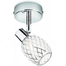 Philips 50270 / 11/ E7 Deltoid Chrome 1 faretto Lampada Spot Light con ombra