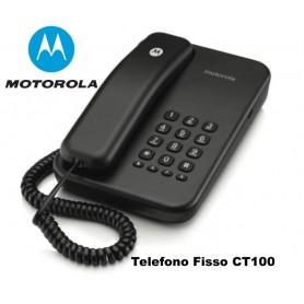 TELEFONO FISSO CT100 MOTOROLA NERO