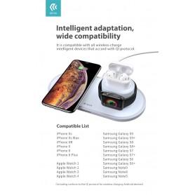 Caricatore Wireless Smartphone per Apple Watch Airpod 18W