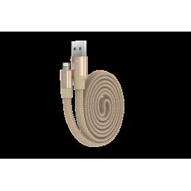 Cavo Piatto in corda Ring Y1 Lightning Apple 80cm C. Gold