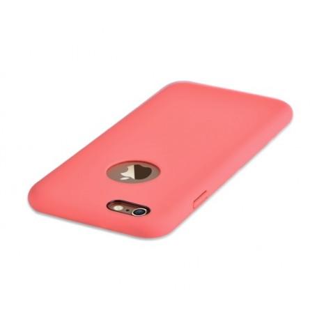 Cover C.E.O Microfibra iPhone 6/6S Plus Con Vista Logo Rosa