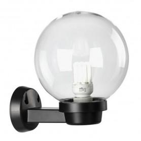 APPLIQUE LAMPADA DA PARETE SFERA GLOBO TRASPARENTE SOVIL 360/06 ATTACCO E27