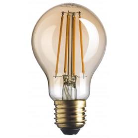 LAMPADINA LED ATTACCO E27 Goccia Stick 220V 7 WATT 725lm GOLD A+