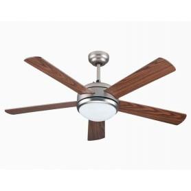 Ventilatore a soffitto con Telecomando illuminazione LED OASI CFG EV081 CFG - 1