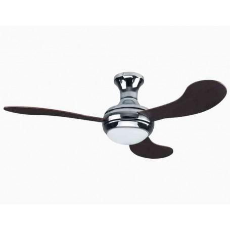 Ventilatore a soffitto con Telecomando illuminazione LED CFG EV082 70W DM130