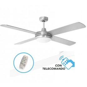 Ventilatore a soffitto con Telecomando luce LED ST. BARTH LED cfg ev083 70w