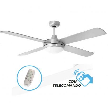 Ventilatore a soffitto con Telecomando luce LED ST. BARTH LED cfg ev083 70w