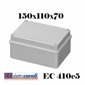 SCATOLA DI DERIVAZIONE EST IP56 CASSETTA STAGNA VARIE MISURE ELETTROCANALI EC410C5