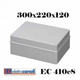 SCATOLA DI DERIVAZIONE EST IP56 CASSETTA STAGNA VARIE MISURE ELETTROCANALI EC410C8