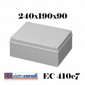 SCATOLA DI DERIVAZIONE EST IP56 CASSETTA STAGNA VARIE MISURE ELETTROCANALI EC410C7
