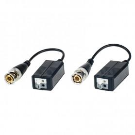 BALUN Convertitore per la trasmissione del segnale video su cavo Cat 5e/6 FTE - 1