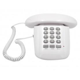 TELEFONO FISSO BRONDI SOLE BIANCO RETRO' CASA UFFICIO NEGOZIO CON FILO