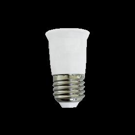 Prolunga Adattatore da attacco E27 a lampada E27 MAX 60W LED LAMPO LIGHTING - 1