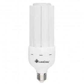 LAMPADA LED TUBOLARE LAMPADINA 27W E27 3000K LUCE CALDA 21362 MARINO CRISTAL MARINO CRISTAL - 1