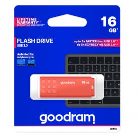 Pendrive GoodRAM 16GB UME3 orange USB 3.0 - retail blister