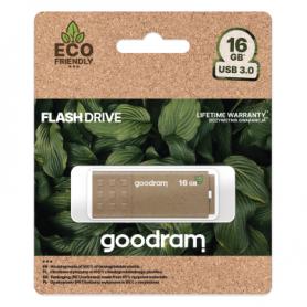 Pendrive GoodRAM 16GB UME3 GREEN USB 3.0 - retail blister