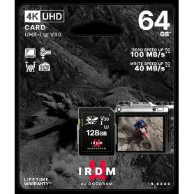 Scheda SD 64GB UHS I U3 Goodram - blister retail