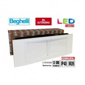 LAMPADA EMERGENZA BEGHELLI LED 1499L 11W COMPLETA DI Battery AL LITIO NEW BEGHELLI - 1