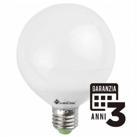 LAMPADA LED GLOBO LAMPADINA 15W E27 230V 2700K LUCE CALDA MARINO CRISTAL 21154 MARINO CRISTAL - 1