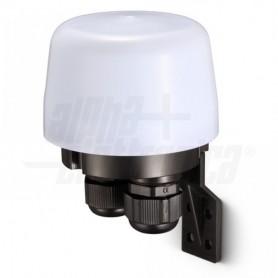Sensore crepuscolare 230Vac 10A IP44 Soglia luminosità ambiente regolabile ALPHA ELETTRONICA - 1