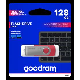 Pendrive GoodRAM 128GB UTS3 RED USB 3.0 - retail blister GOODRAM - 1