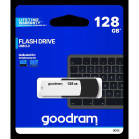 Pendrive GOODRAM Black-White 128GB USB 2.0 - retail blister GOODRAM - 1