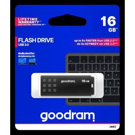 Pendrive GoodRAM 16GB BLACK USB 3.0 - retail blister GOODRAM - 1