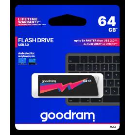 Pendrive GoodRAM 64GB UCL2 BLACK USB 3.0 - retail blister GOODRAM - 1