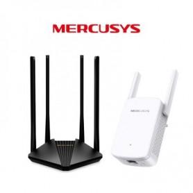 Kit Gigabit Mercusys-Router Dual Band MR30G + Extender ME30 Mercusys - 1