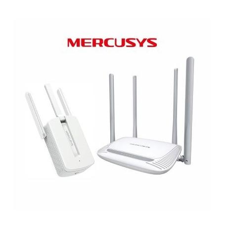 Kit Megabit Mercusys-Router 2.4GHz MW325R+Ripetitore MW300RE Mercusys - 1