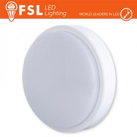 Plafoniera LED Applique ROTONDA BIANCA 15W 4000K Ø180x55 IP54 FLRB - 1