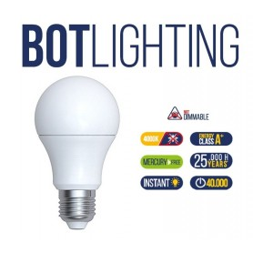 LAMPADINA LAMPADA LED ANTI ZANZARA 220V ATTACCO E27 8,3W - 60W LUCE BIANCA